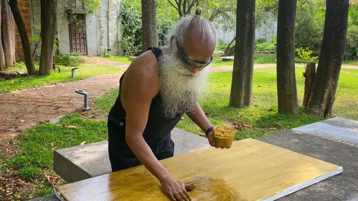 Sadhguru contributes over Rs 9 crore towards COVID relief, second painting auctioned for Rs 5.1 crore