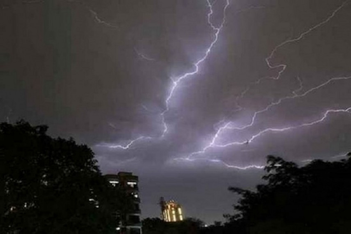 Lightning claims 43 lives in Bihar, UP