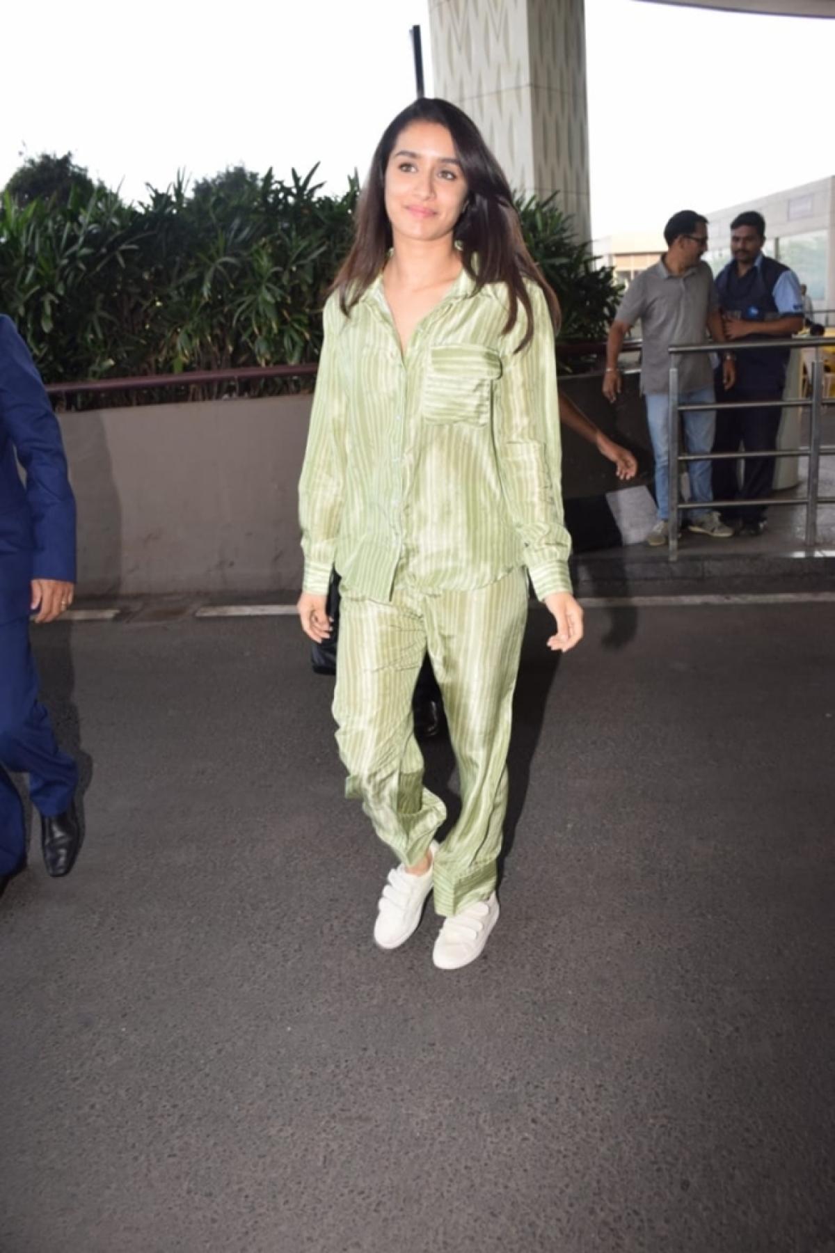 Shraddha Kapoor rocks night wear in style
