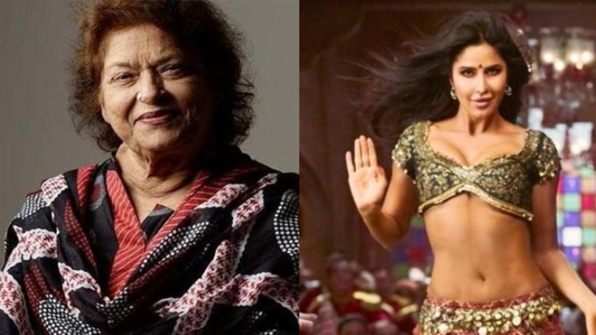 When Saroj Khan was replaced by Prabhu Deva because of Katrina Kaif