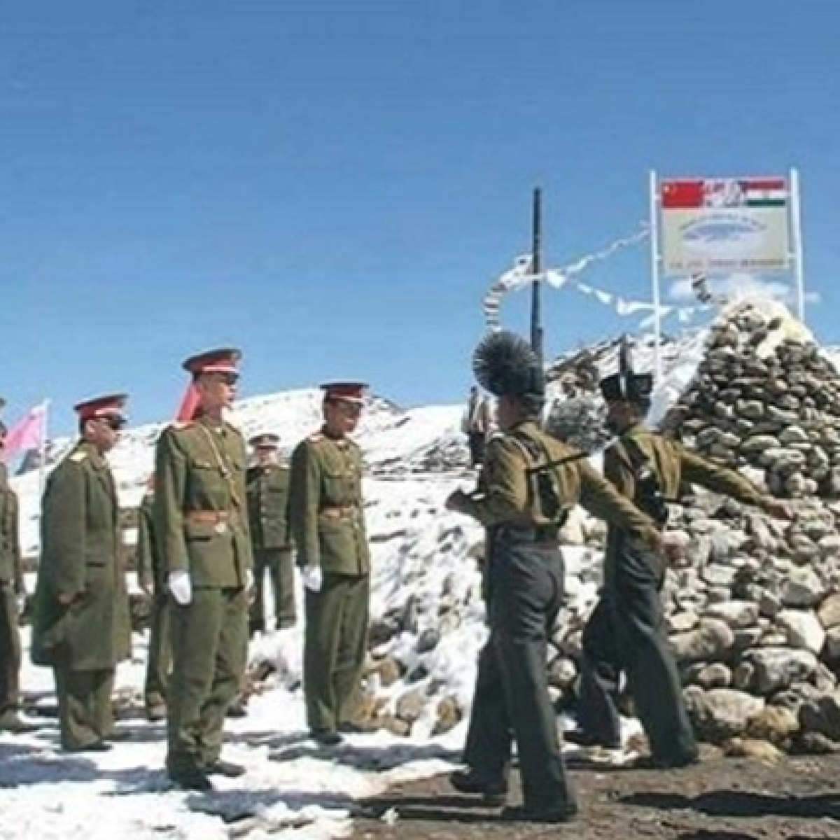30,000 Indian troops in eyeball-to-eyeball confrontation with Chinese army in Ladakh