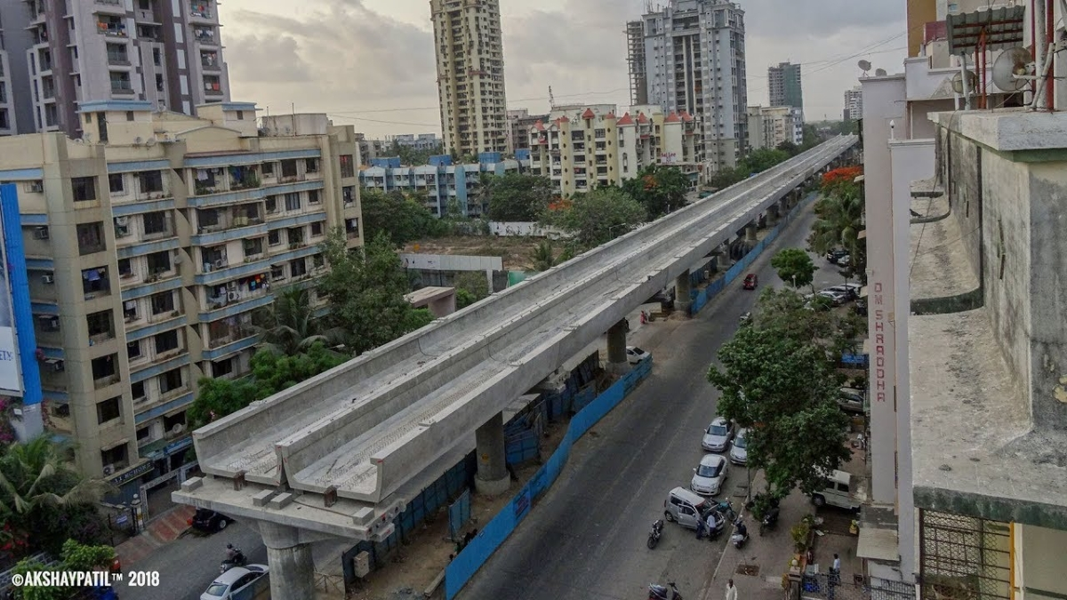 Mumbai Metro Line 2A & 7 trial runs to commence in January 2021