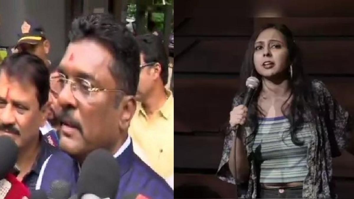 Shiv Sena MLA Pratap Sarnaik demands arrest of stand-up comedian Agrima Joshua for comments against Chhatrapati Shivaji Maharaj