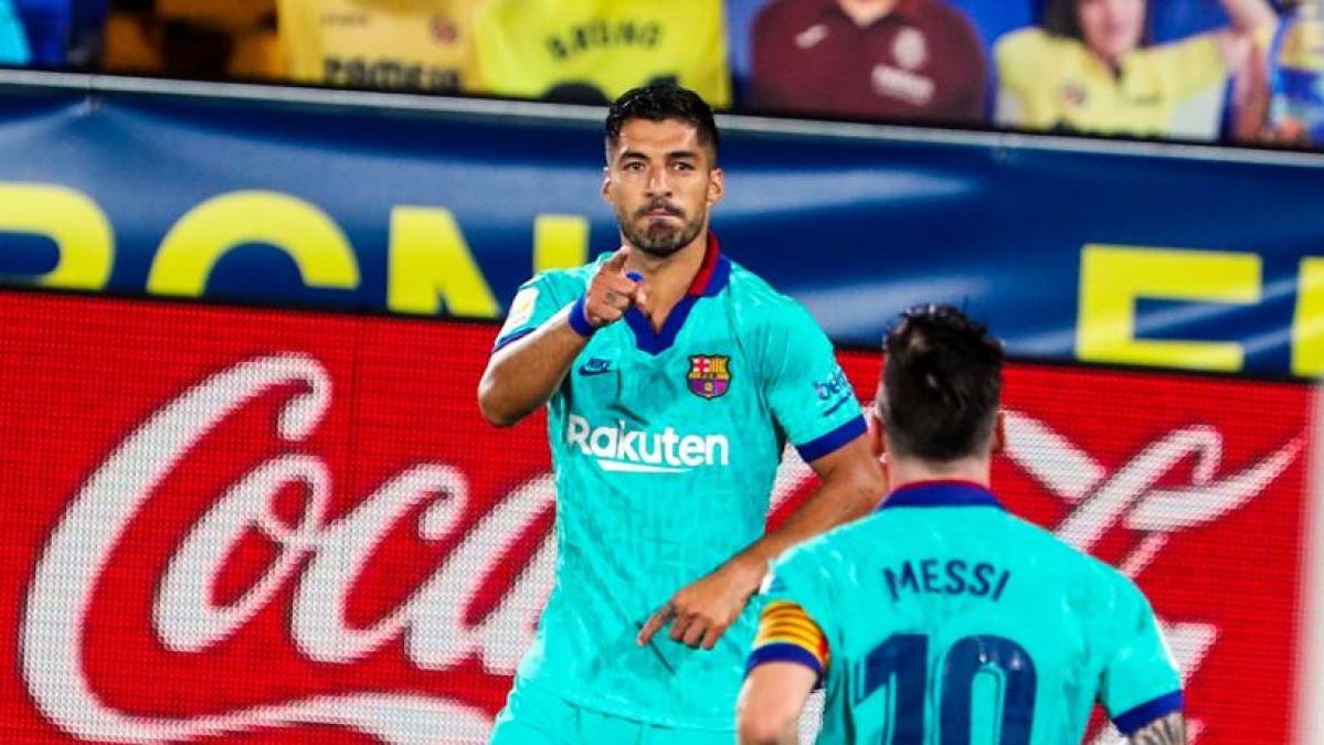 La Liga highlights: Suarez helps keep Barcelona's title hopes alive after 1-0 victory against Espanyol