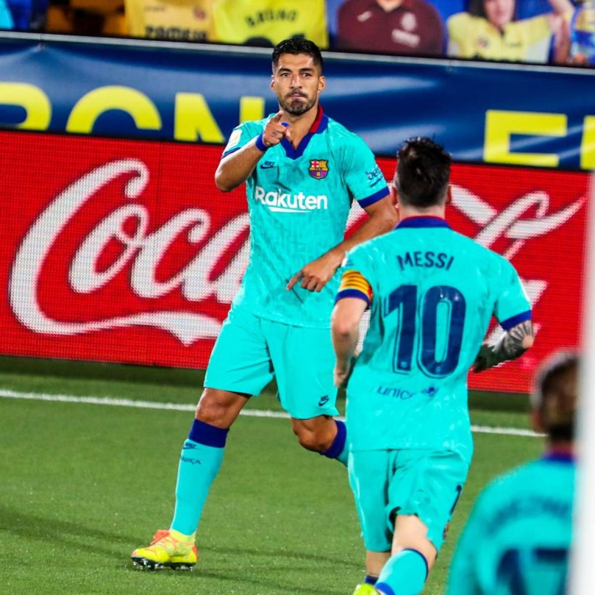 La Liga highlights: Luis Suarez becomes Barcelona's third-highest goalscorer after scoring in 4-1 victory against Villarreal