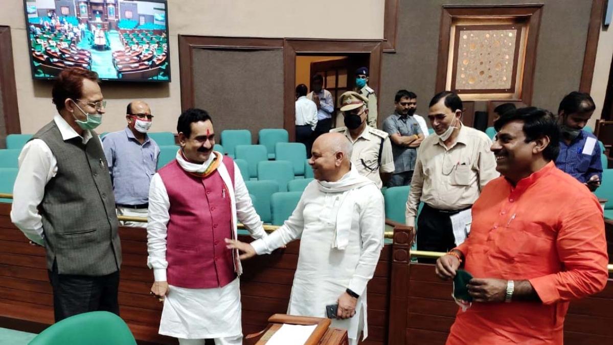 Corona Impact: Legislators' seats to be marked, more chairs placed in MP Vidhan Sabha