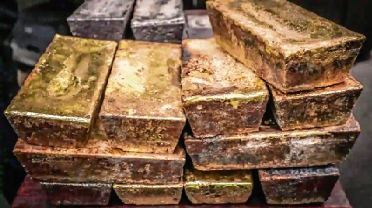 230 kg gold smuggled through diplomatic channel