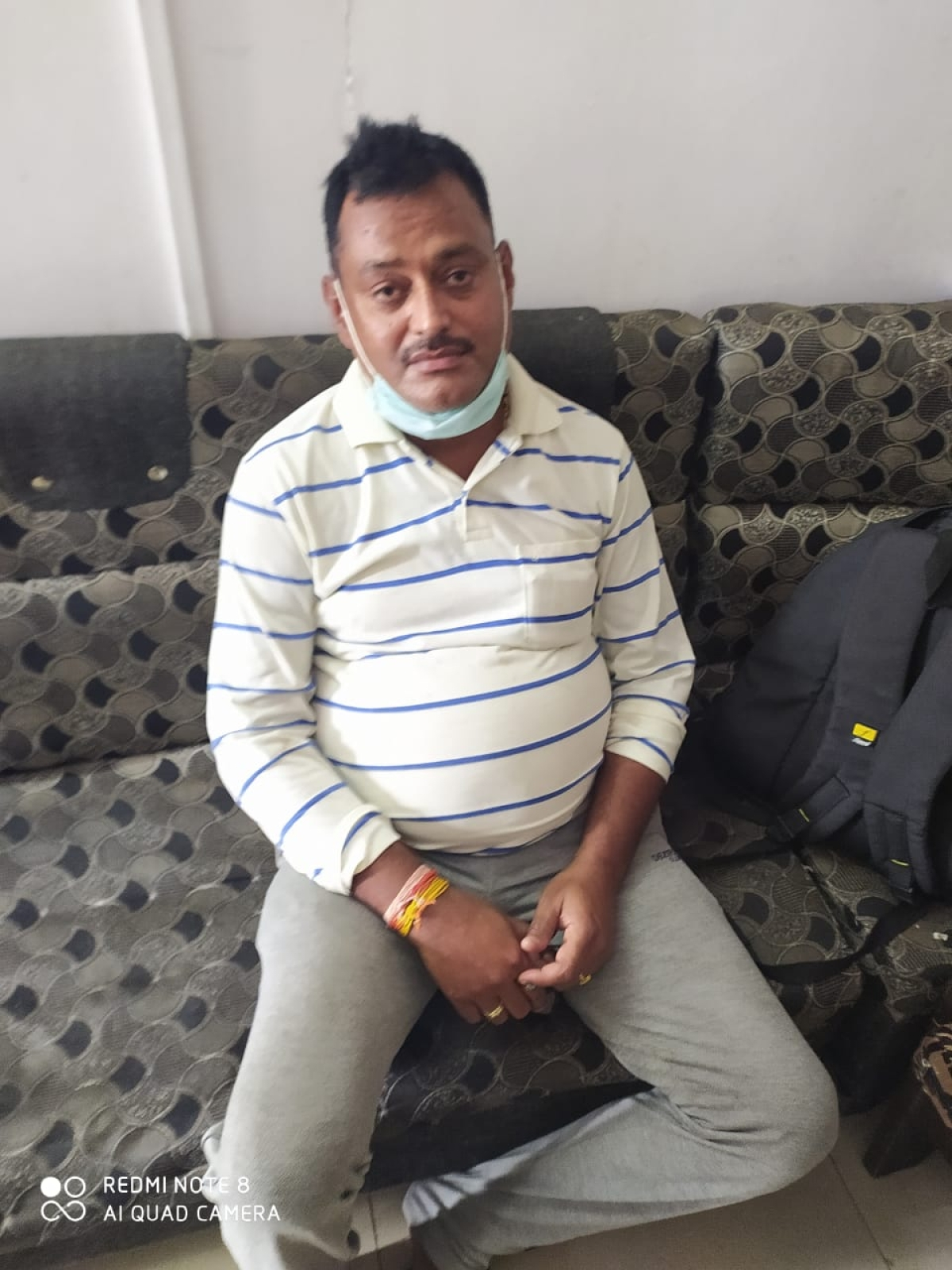 In Pictures: Gangster Vikas Dubey arrested in Madhya Pradesh's Ujjain