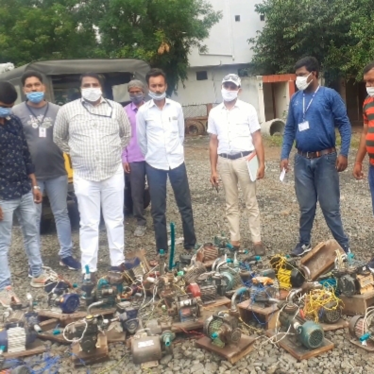 Indore: IMC seizes 26 pumps; Drawing water directly from Narmada pipeline