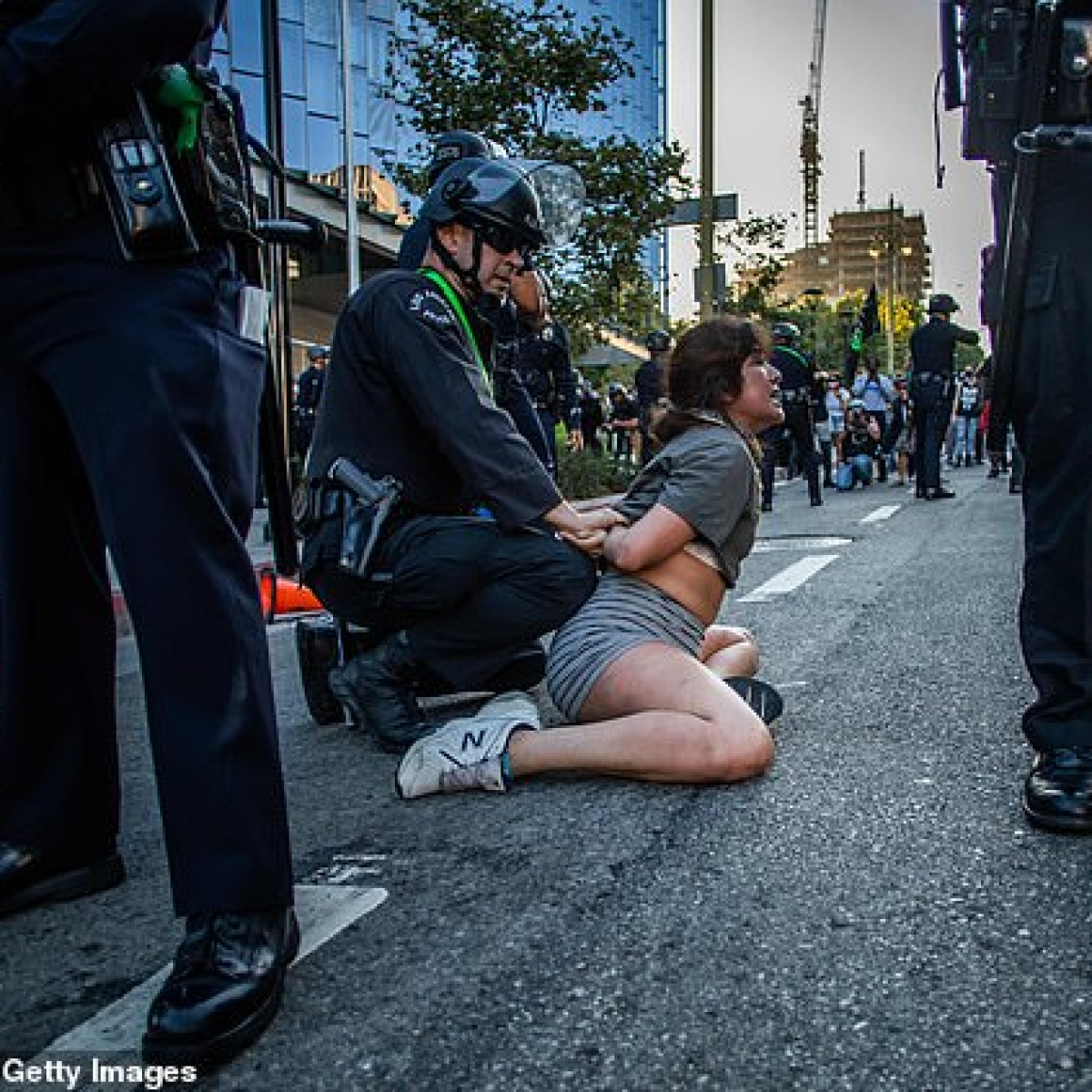 Protests spread across US