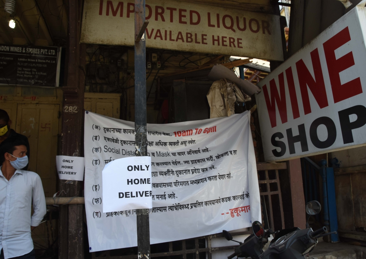 Sale of liquor relieves state's  thirst for revenue