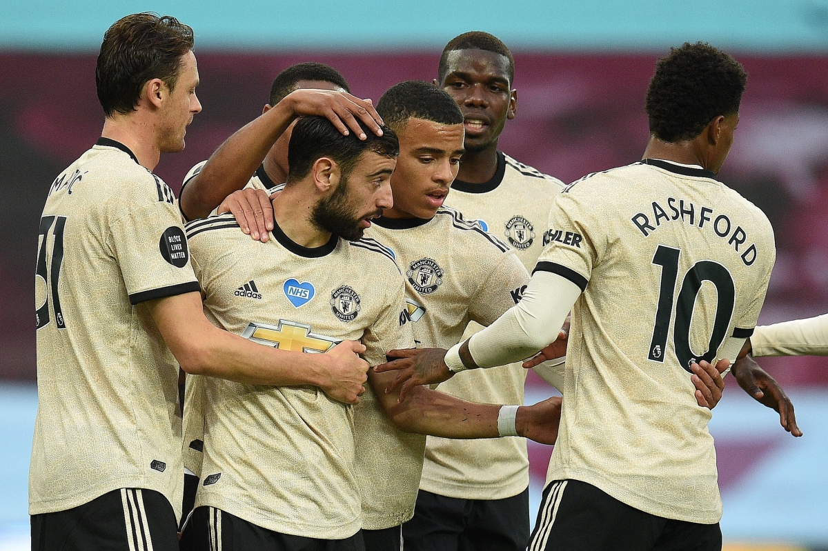 Manchester United beat Aston Villa 3-0 – highlights, stats and comments