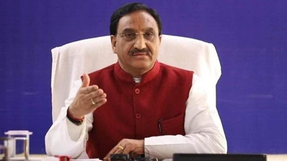 Union HRD Minister Ramesh Pokhriyal (File Photo)