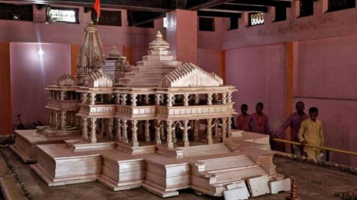 Uttar Pradesh: Ayodhya trust offering Ram Mandir's 'holy-soil' to devotees for performing puja at home