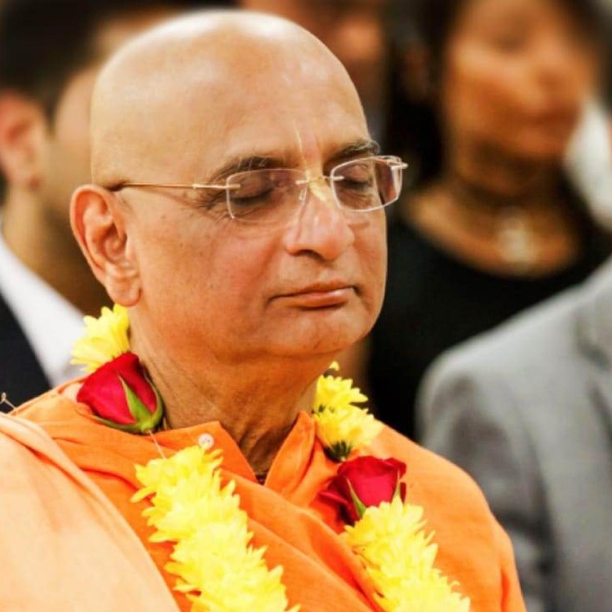 Bidding Adieu to Bhakti Charu Maharaj