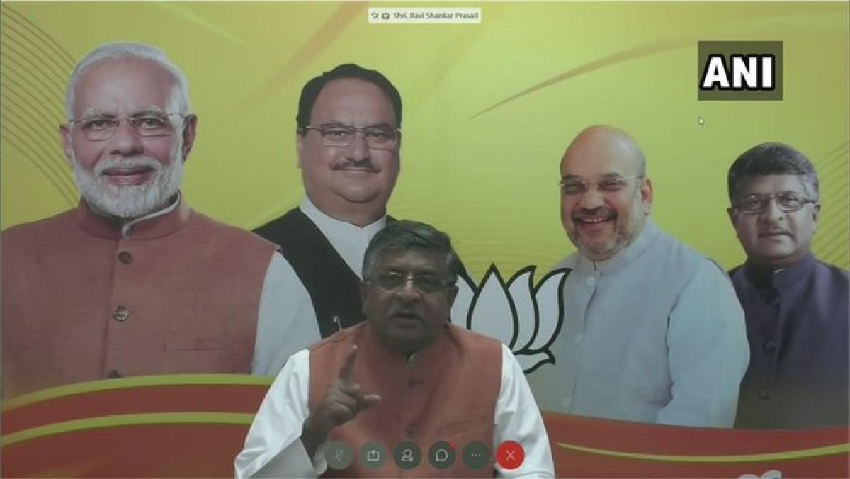TikTok ban takes political turn: RS Prasad labels it 'digital strike' amid India-China tension
