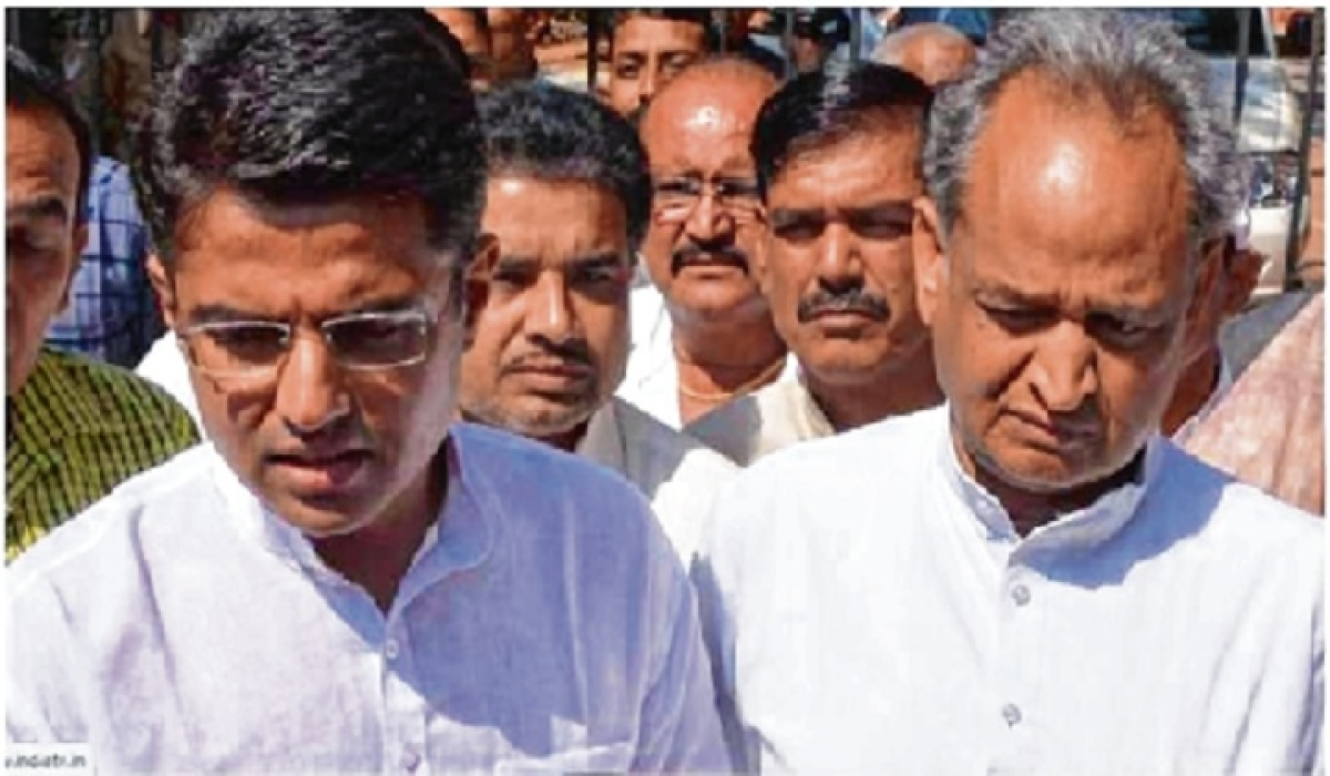 Rajasthan crisis: The story of a nose-diving Pilot & soaring Gehlot!