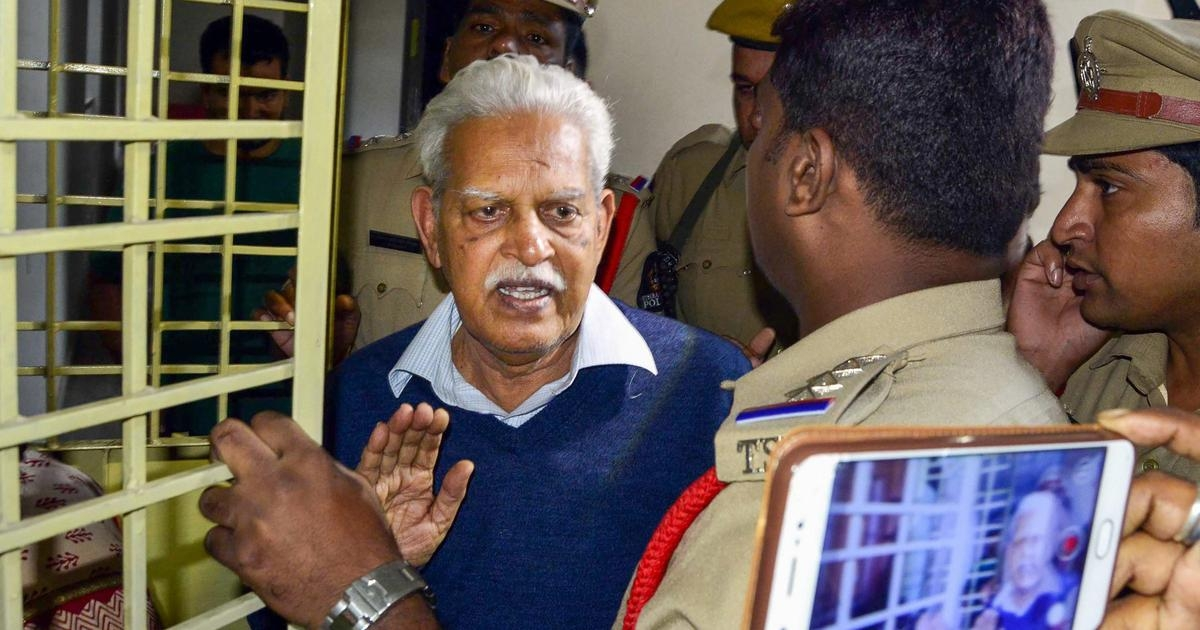 Plea in Bombay High Court seeks fresh check-up for Varavara Rao