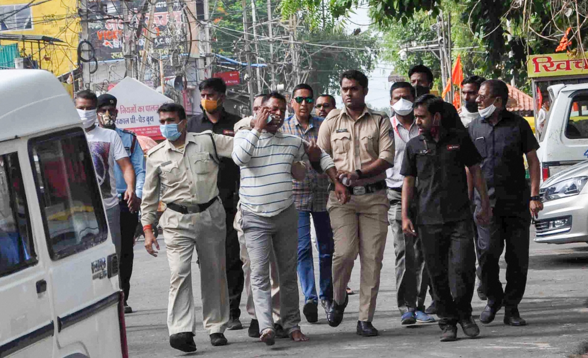 Kanpur police killings: Mumbai ATS nabs two Vikas Dubey aides from Thane