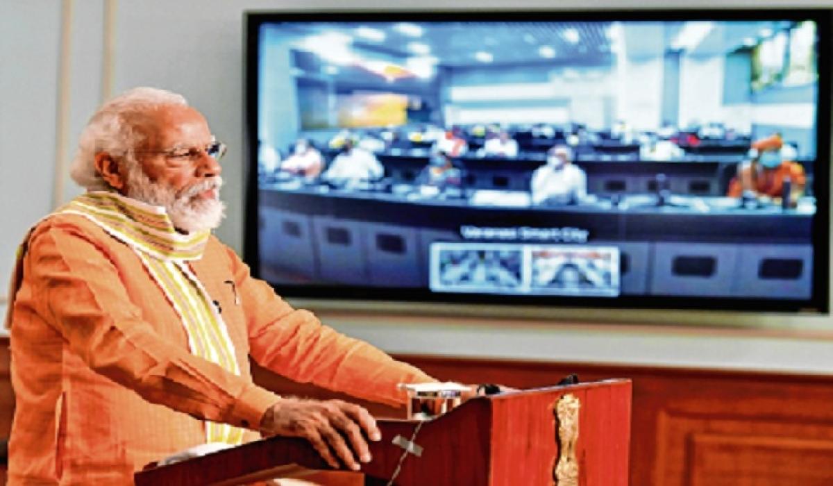 Prime Minister Modi applauds Uttar Pradesh for containing Covid crisis