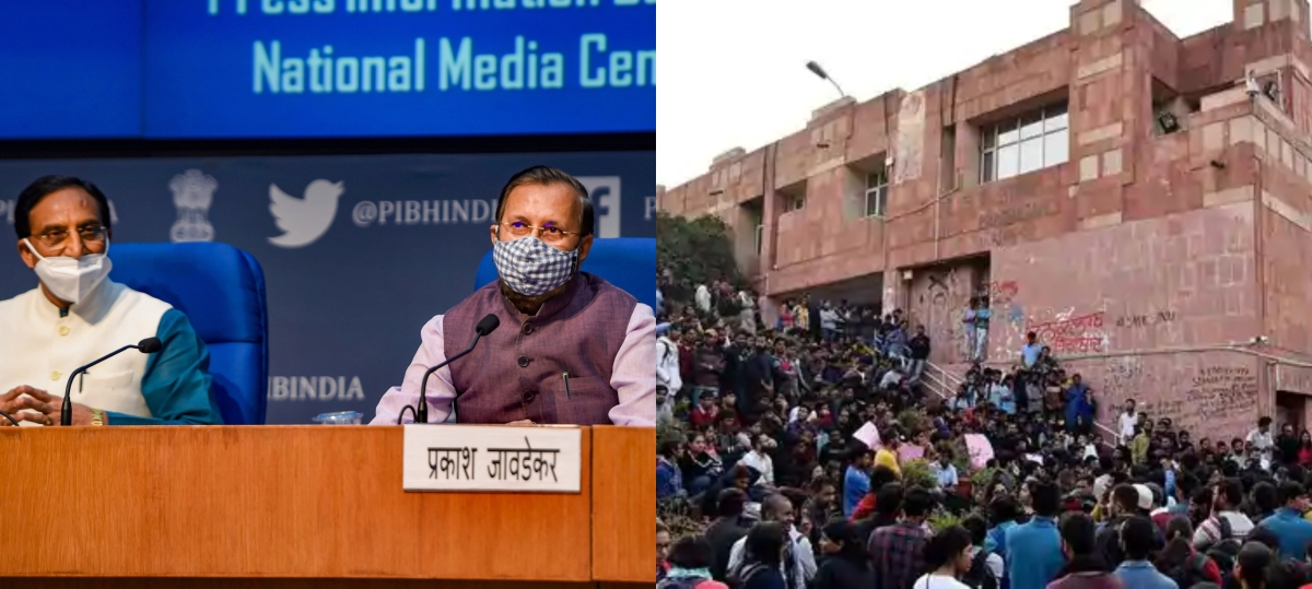New Education Policy 2020 does away with MPhil; Netizens concerned about 'JNU students'
