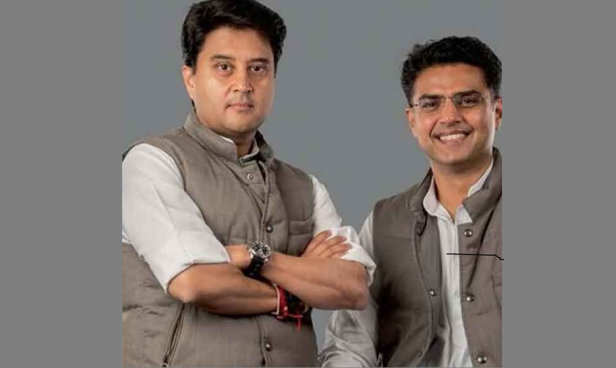 Jyotiraditya Scindia (Left) and Sachin Pilot (Right)