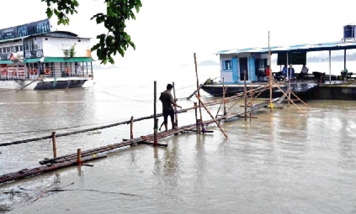 Assam toll 90; rain kills 5 in UP, Uttarakhand