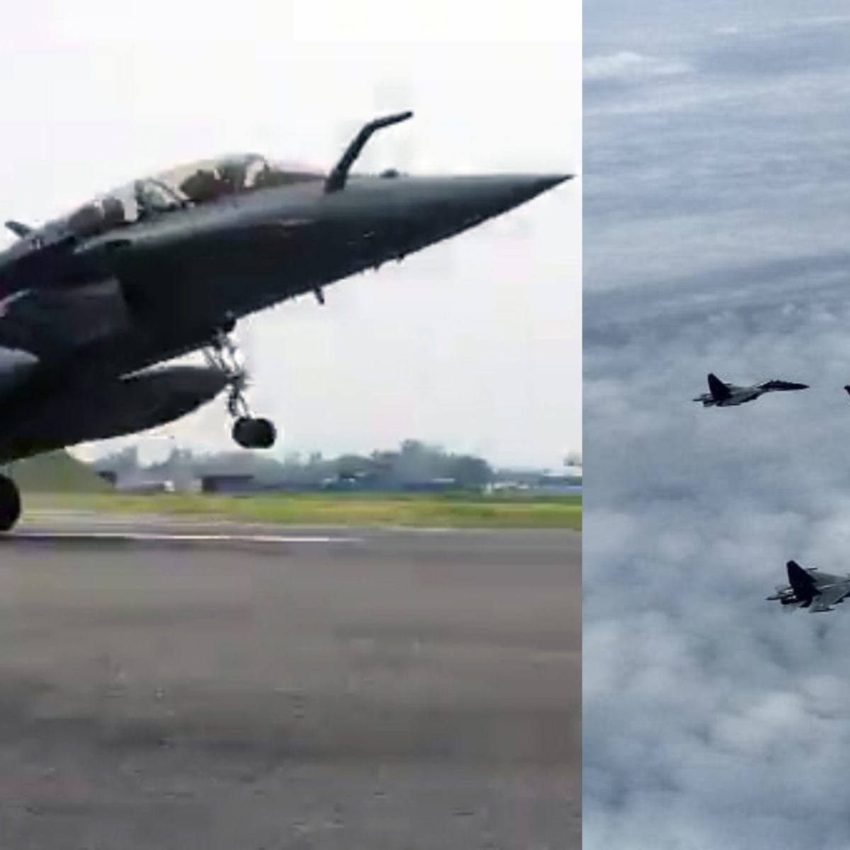Five Rafales but seven planes - which are the other two fighter planes escorting IAF's new pride?