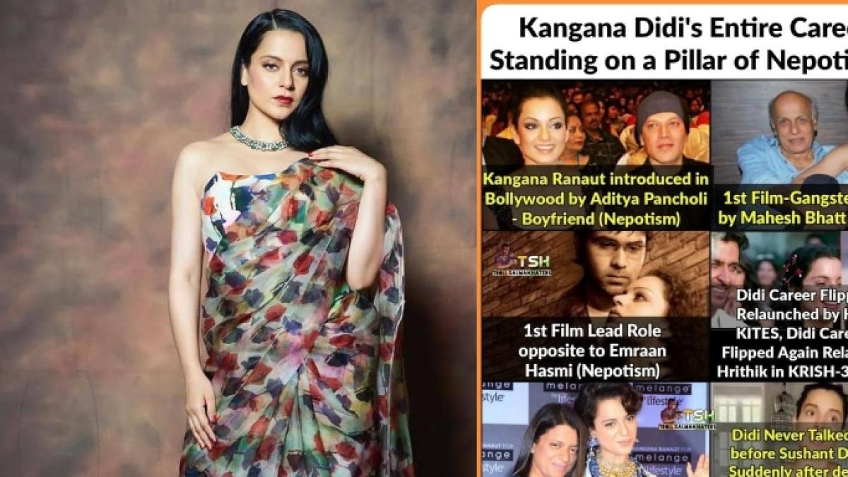 Kangana Ranaut's team reacts to Nagma's 'Didi is hypocrite' meme