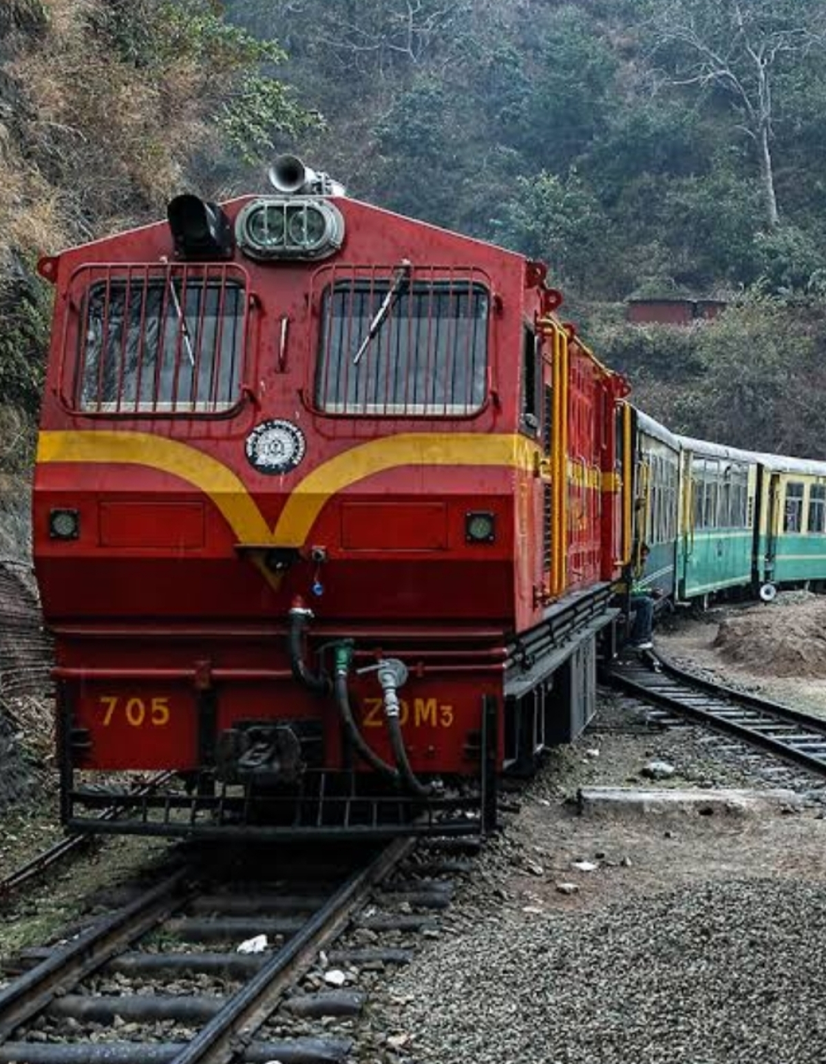 CR's Parel workshop turns out the first ZDM3 Loco for Northern Railway