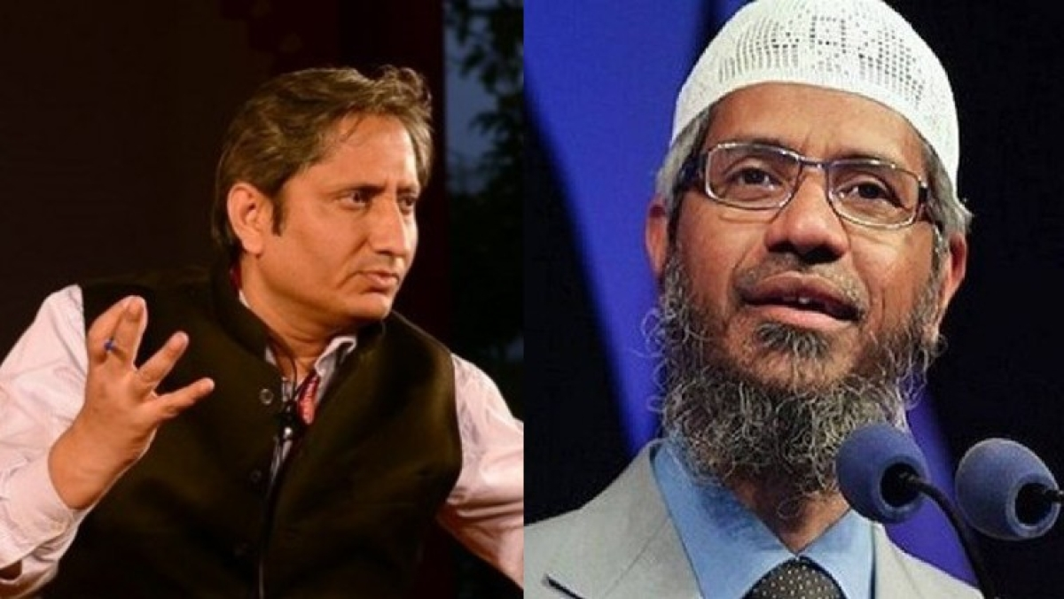 Zakir Naik claims even 'good non-Muslims' like Ravish Kumar won't get a place in heaven