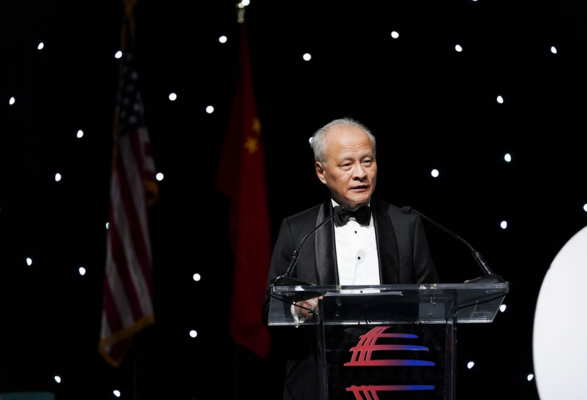 "Chinese ambassador to US Cui Tiankai shares ""1 to 9"" facts on national security law for Hong Kong"