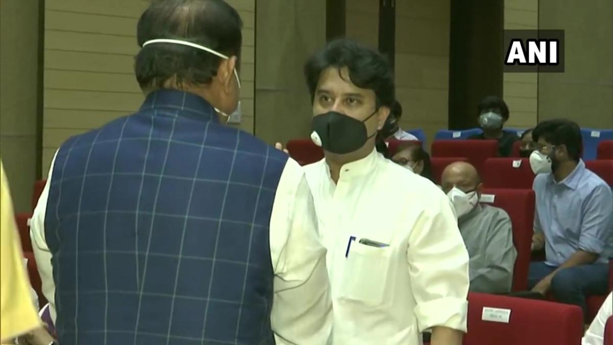 BJP leader Jyotiraditya Scindia