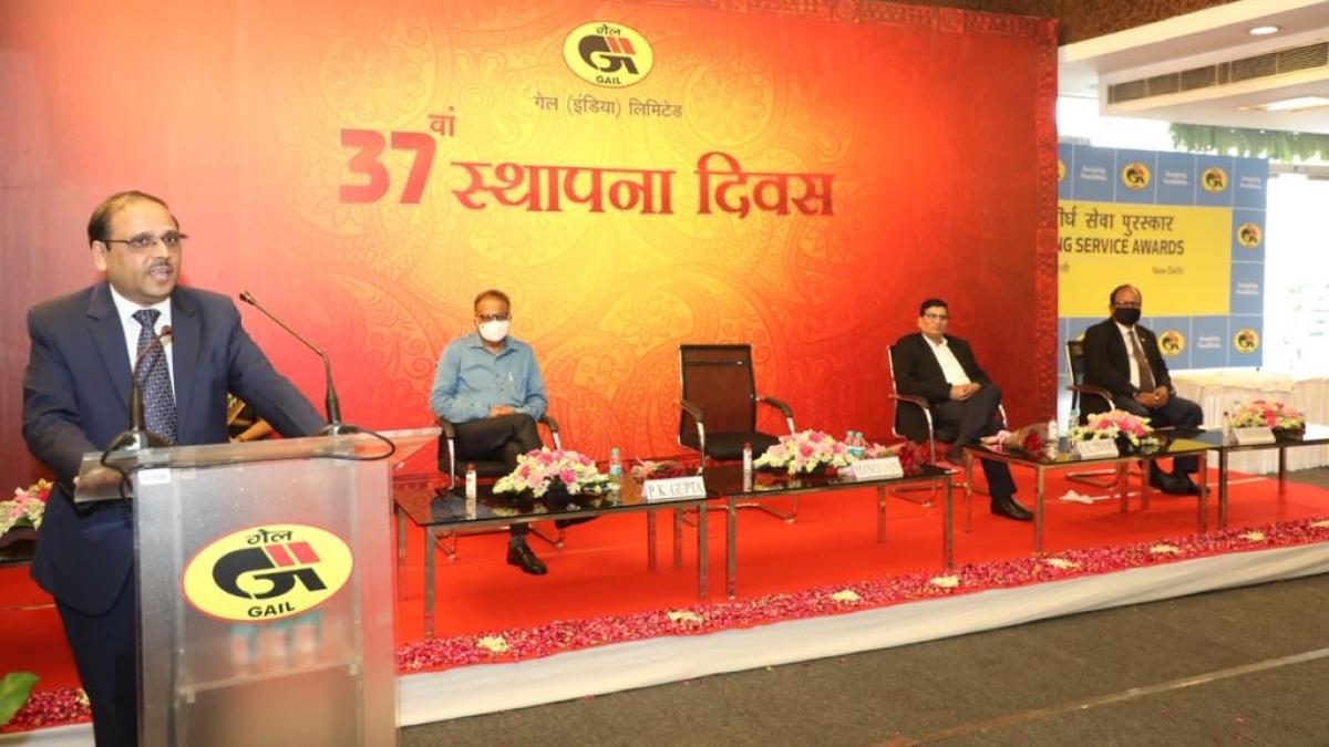 GAIL celebrates 37th Foundation Day
