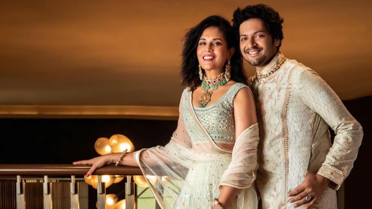 Ali Fazal, Richa Chadha spark wedding rumours with 'mehndi' photo, fans ask 'Nikaah toh nahi kar liye'