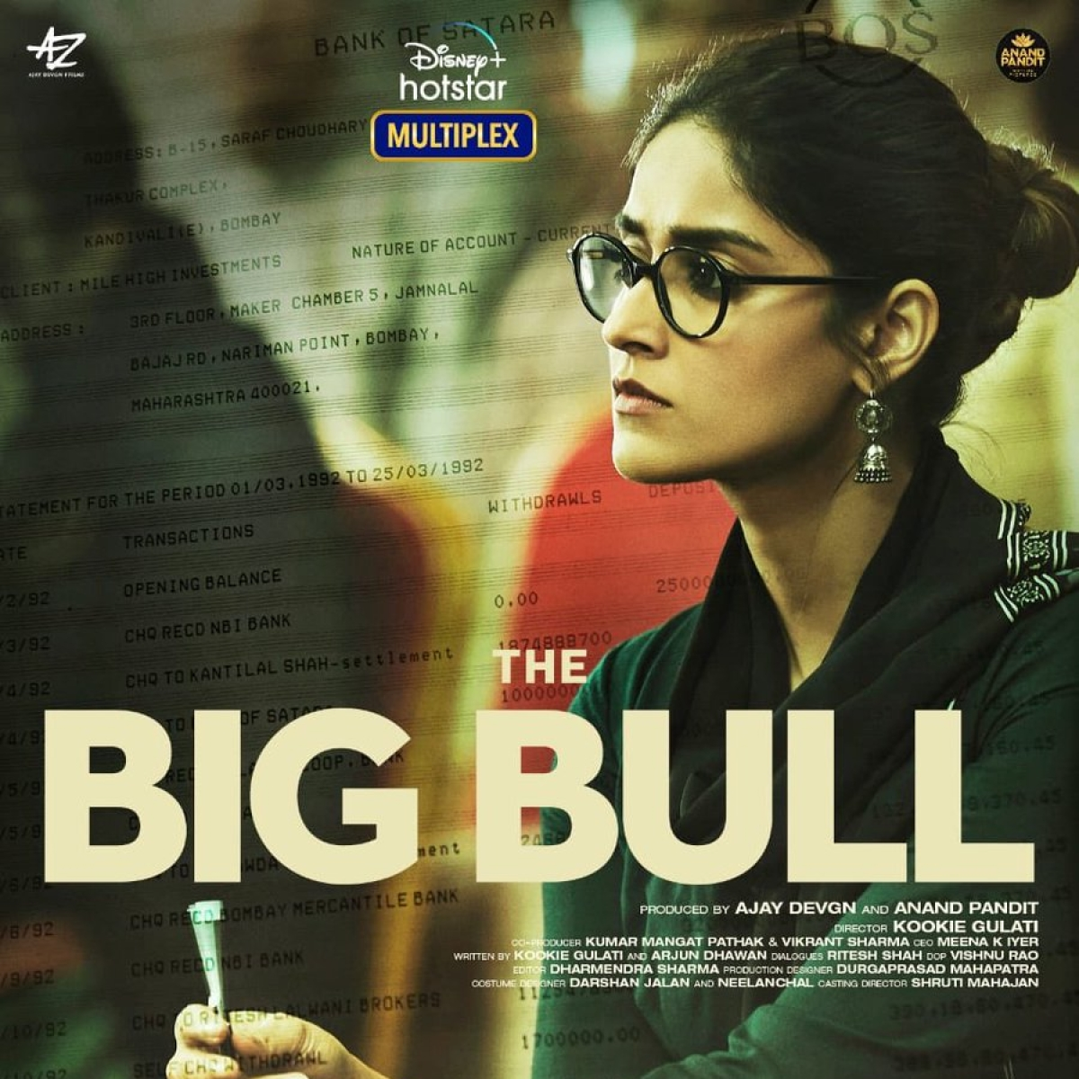 Makers of crime-thriller 'The Big Bull' unveil intriguing poster featuring Ileana D'Cruz