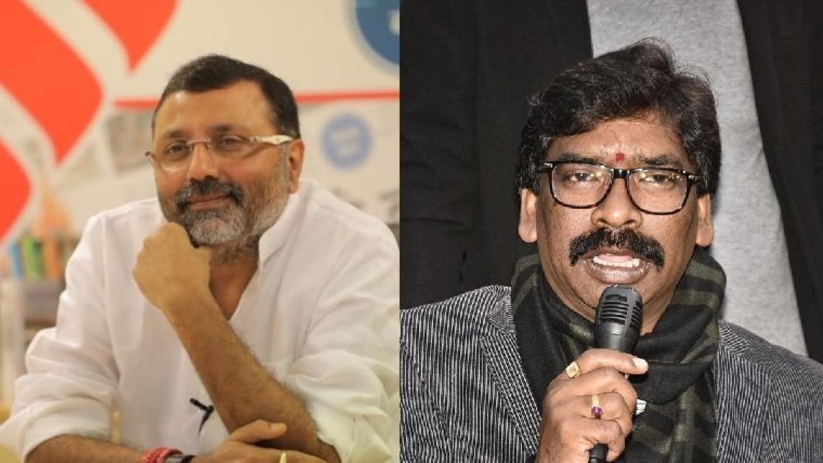BJP MP Nishikant Dubey accuses Jharkhand CM Hemant Soren of rape and abduction, latter files Rs 100 crore defamation suit