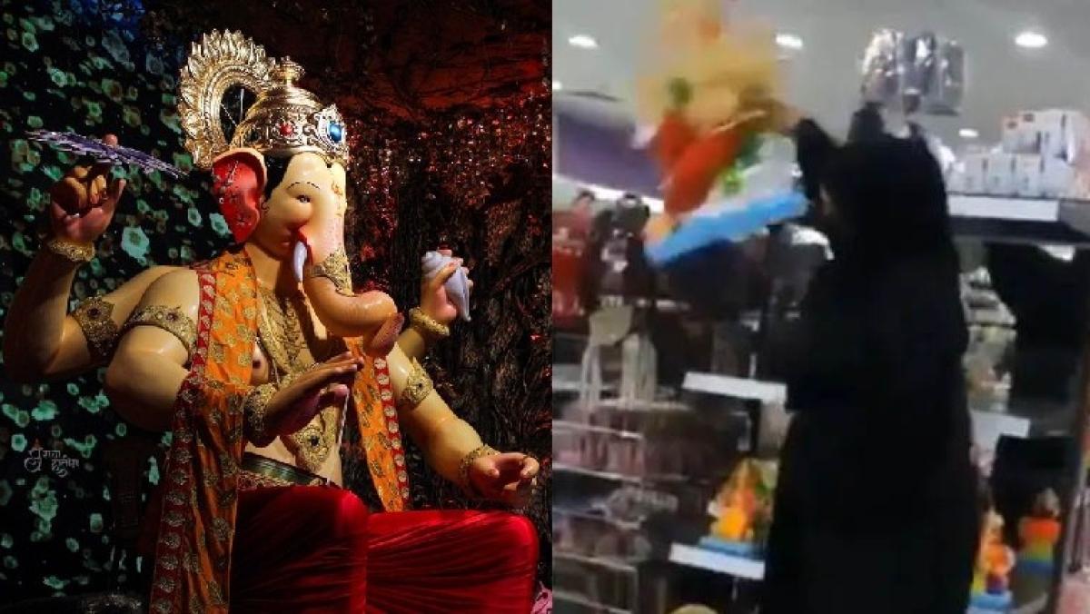 Bahrain: Burqa-clad woman who destroyed Ganesha idols in supermarket prosecuted