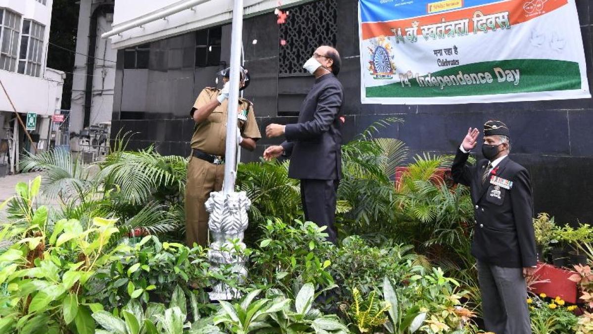 Canara Bank celebrates 74th Independence Day