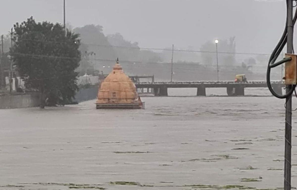 Rainfall in Bhopal: Upper Lake nears full capacity due to heavy rains