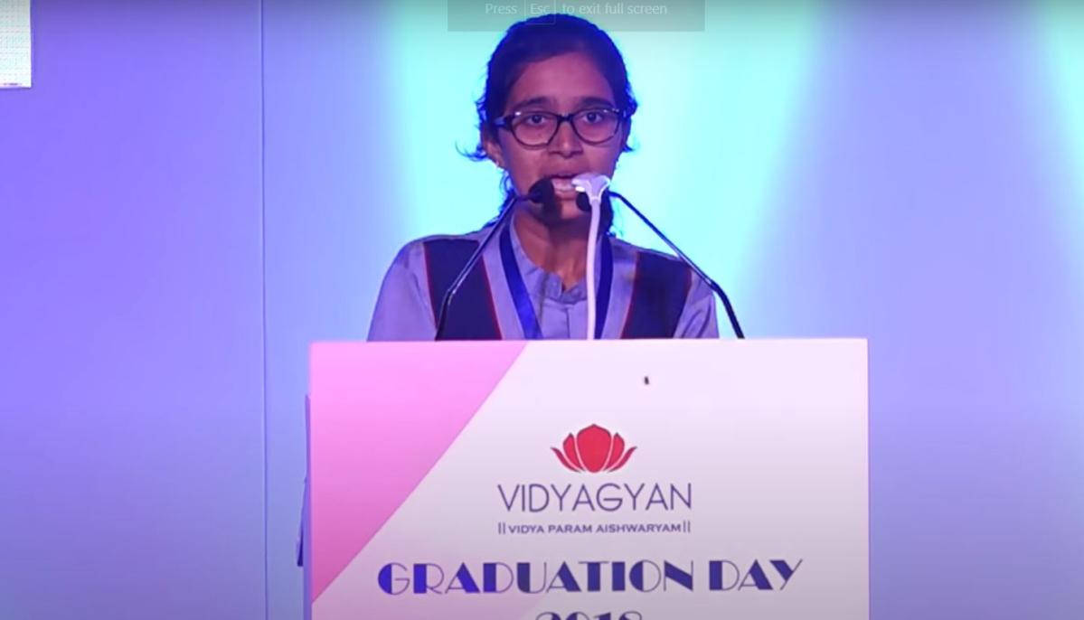 'Most girls drop out because of eve-teasing': Watch Bulandshahr girl Sudiksha Bhatti's heart-breaking graduation speech
