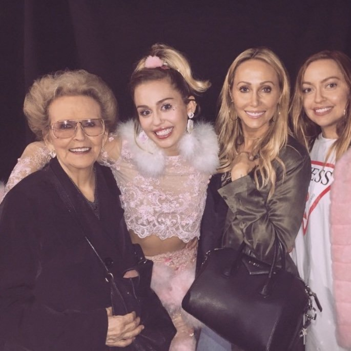 Miley Cyrus' grandmother Loretta Jean 'Mammie' Palmer passes away