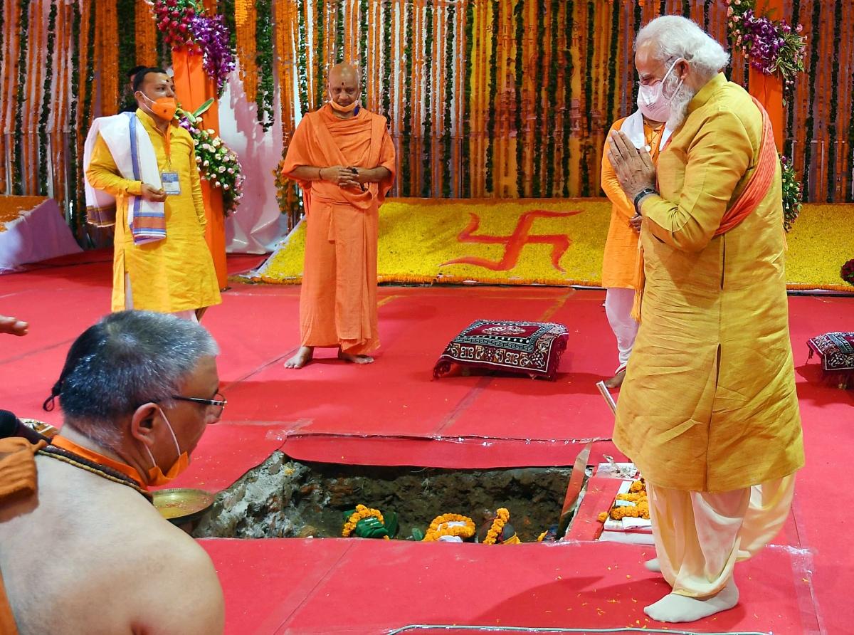 Ayodhya: BJP's political road to Hindutva