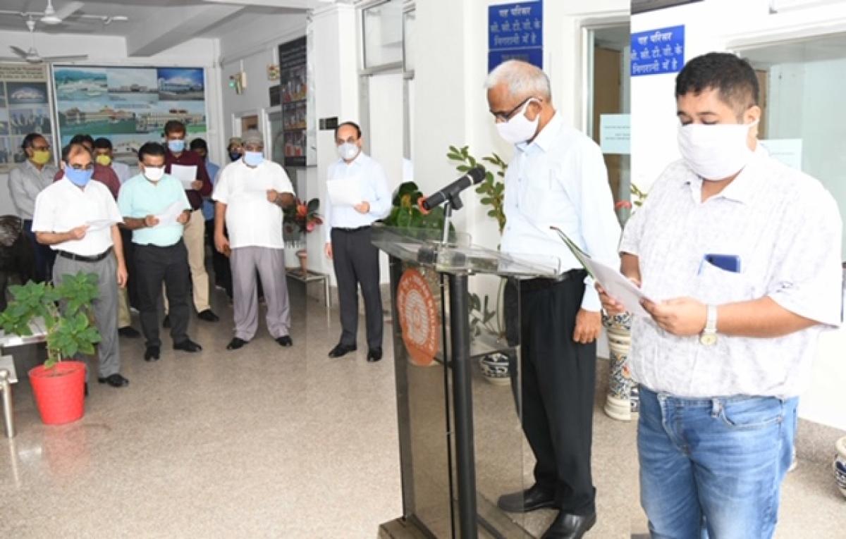 N F Railway (Construction), Maligaon takes Sadbhavana pledge