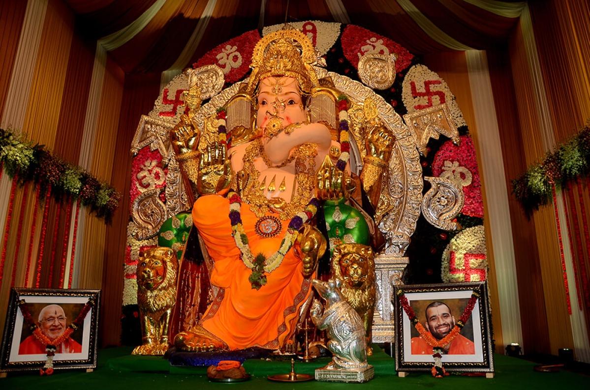 Picture from Ganeshotsav 2016