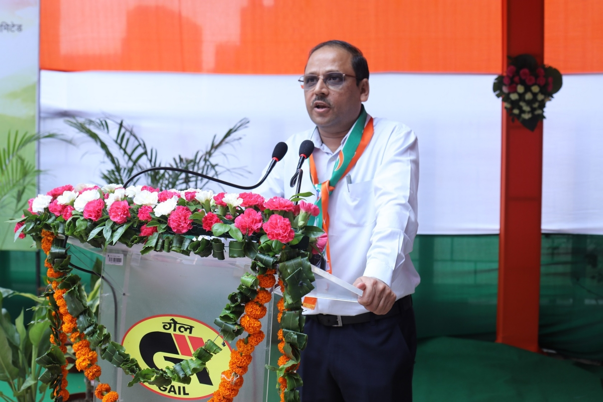 GAIL celebrates 74th Independence Day