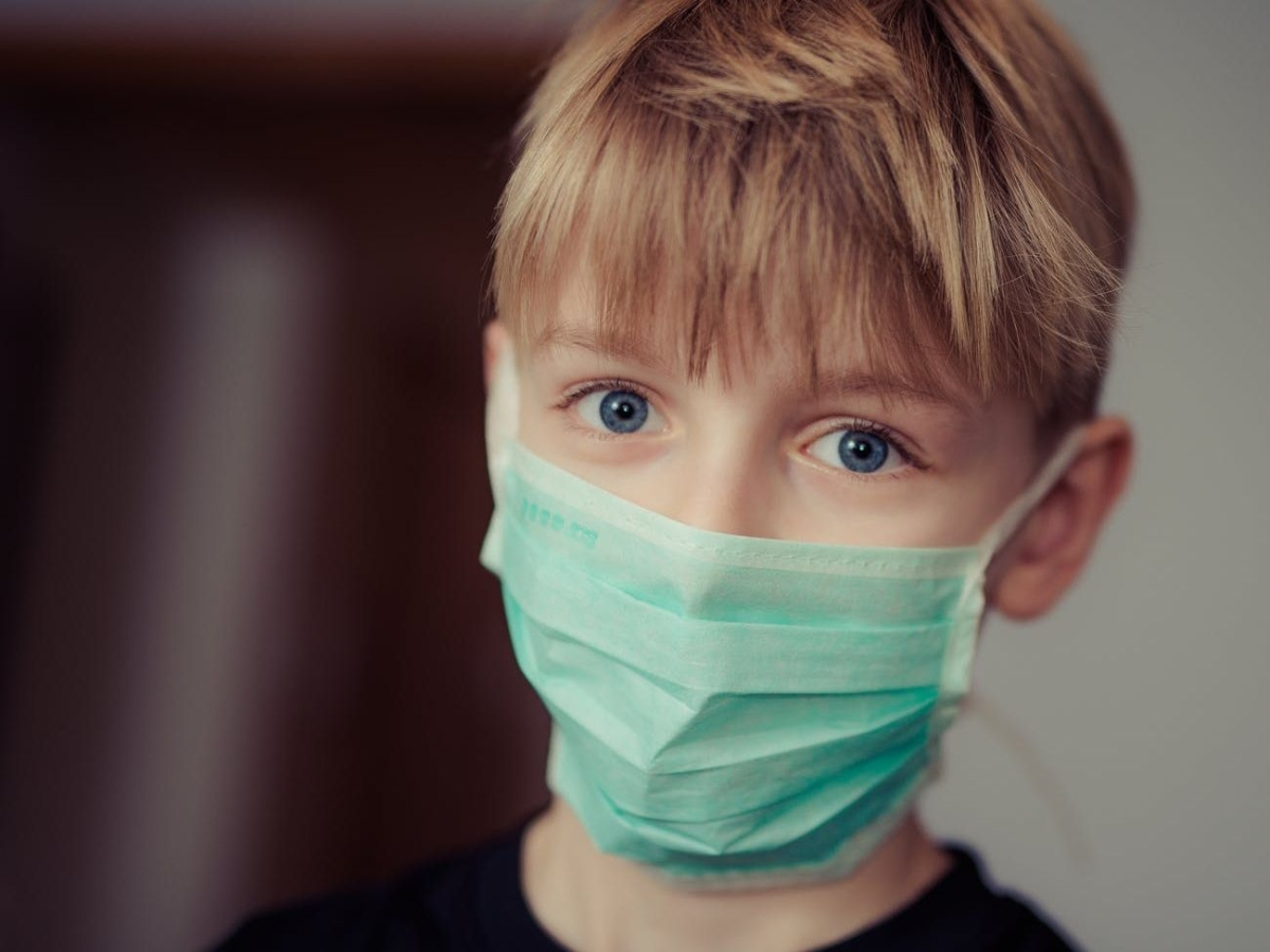 Kids with no Covid symptoms may shed virus for weeks