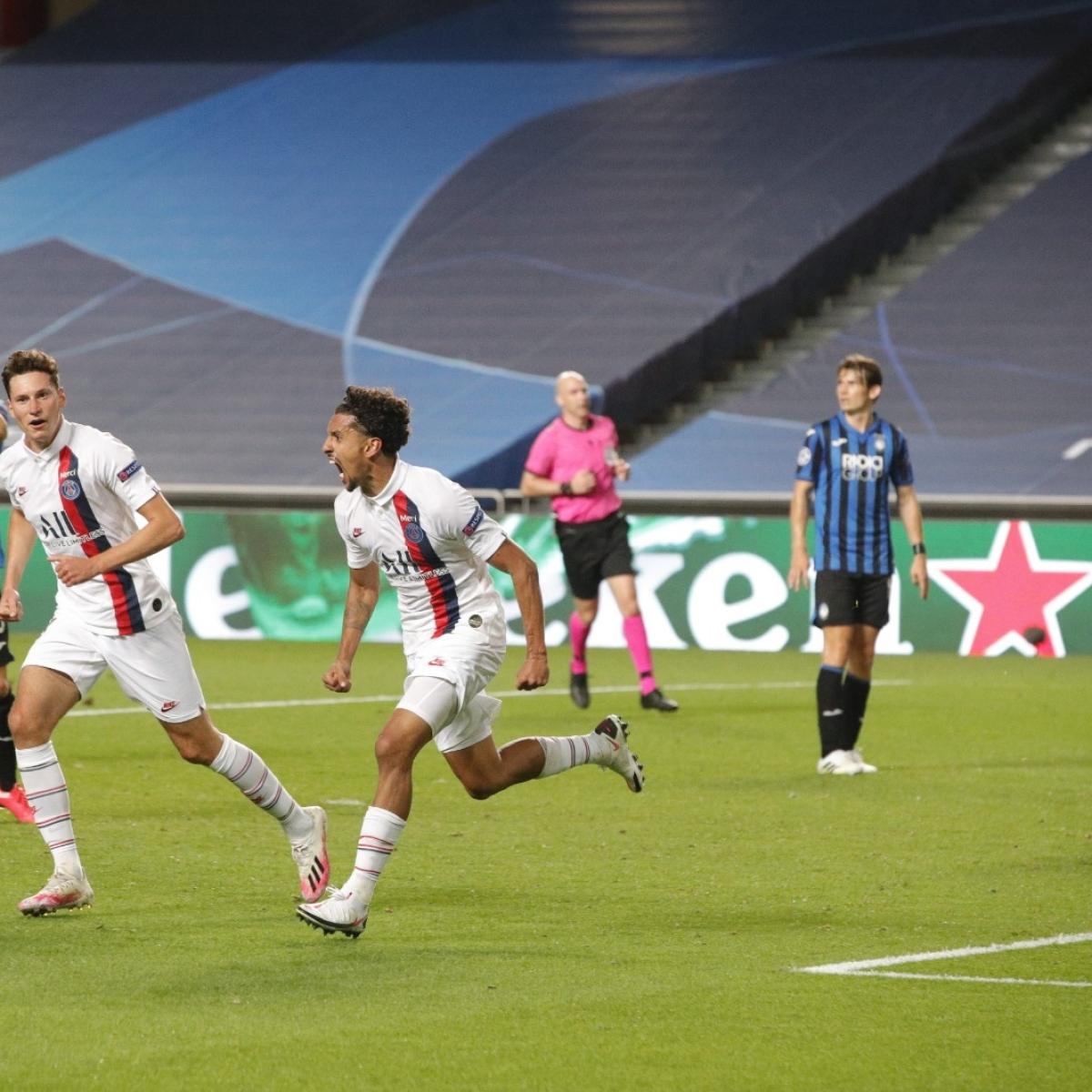 PSG secure 2-1 win over Atalanta to progress to Champions League semi-finals