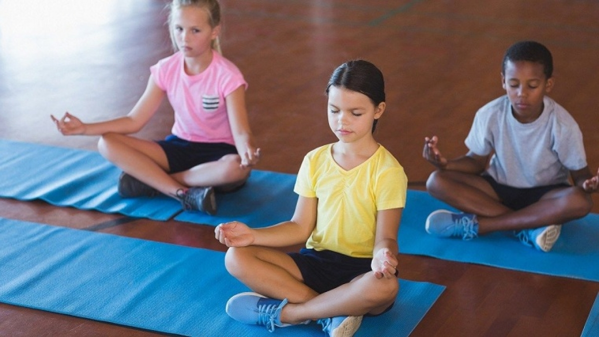 Breathing exercises can help students manage stress