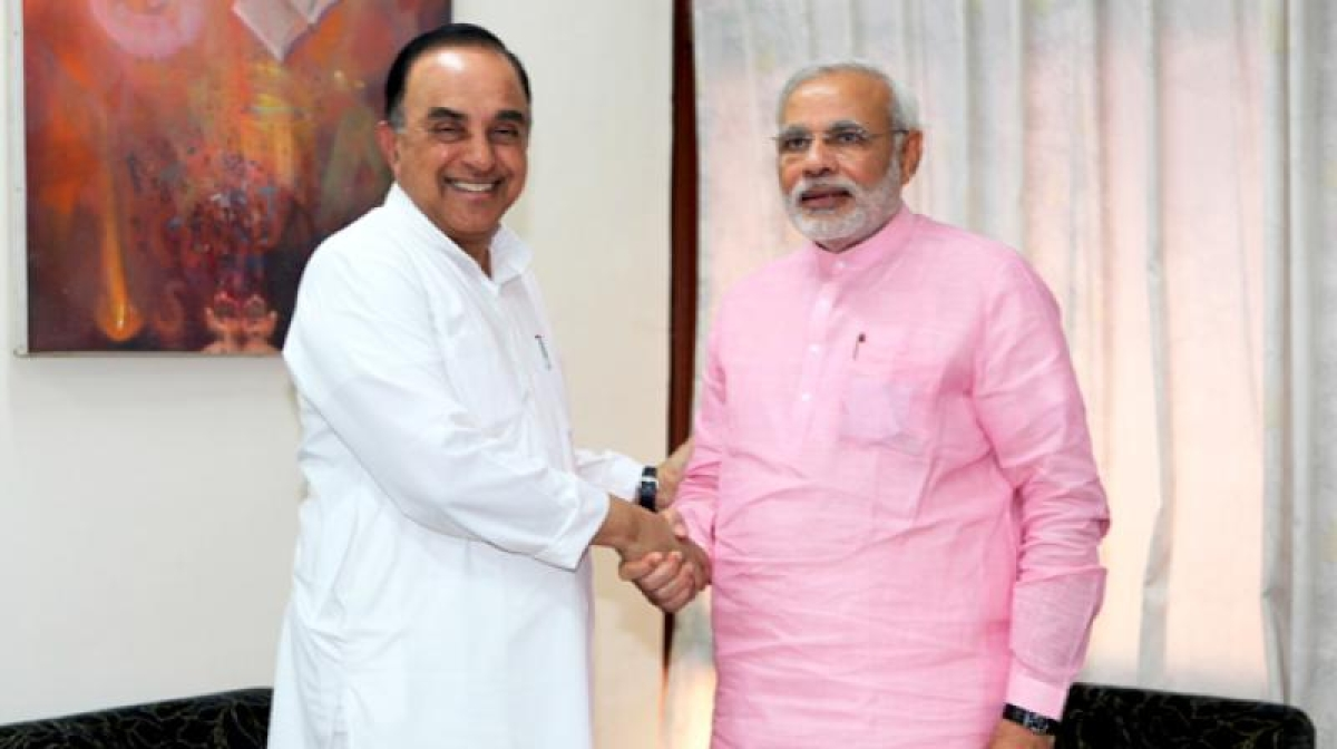 Despite his ongoing spat with BJP IT cell, PM Modi wishes Subramanian Swamy on his birthday